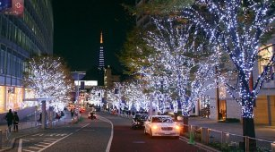 Roppongi Hills in Winter