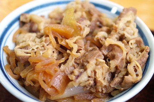 Popular Japanese Food - Gyudon