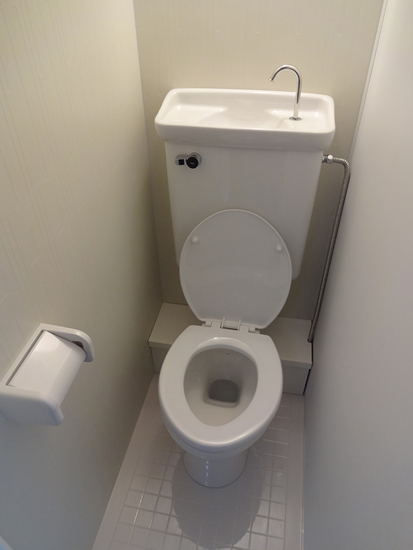 Japanese Toilet - Separate From Bath