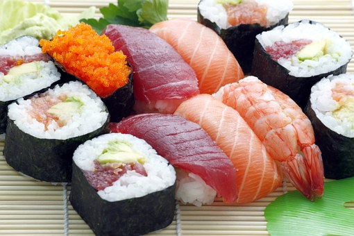 Common Japanese Foods - Sushi